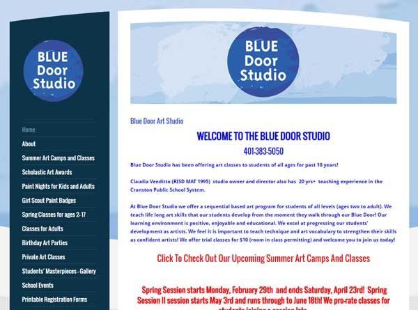 Blue Door Art Studio